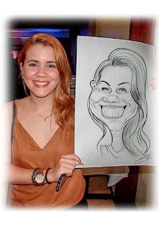 caricaturista para eventos em gravatá