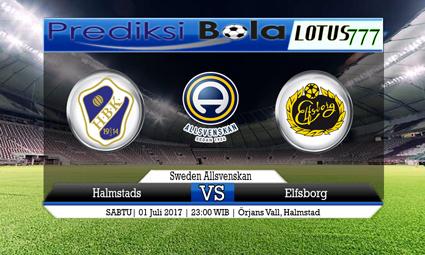 Prediksi Pertandingan antara Halmstads vs Elfsborg Tanggal 01 Juli 2017