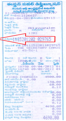 APEPDCL Electricity Bill