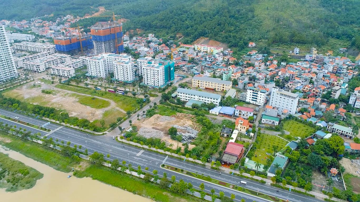 Cảnh quan thực tế dự án Hometel Marina
