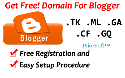 In This Post I Am Going To Share How To Register Free Domain In Dot Tk And How To Add Dot Tk Domain On Bloggerdot Tk To Blogger