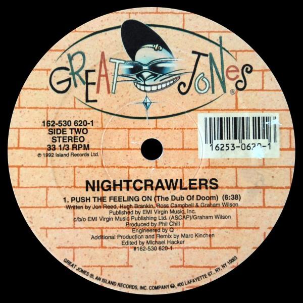 Vinyl Radio Nightcrawlers Push The Feeling On 1992