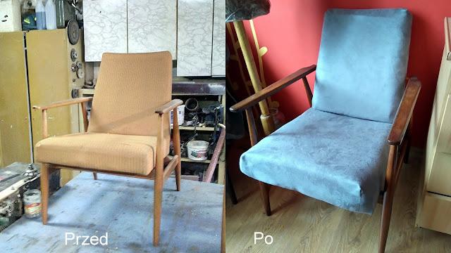 Metamorfoza foteli PRL