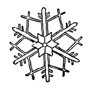 snowflake illustration download image