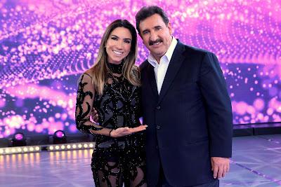 Patricia Abravanel e Ratinho - Crédito: Lourival Ribeiro/SBT