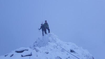 Winter ledge route, Ben Nevis