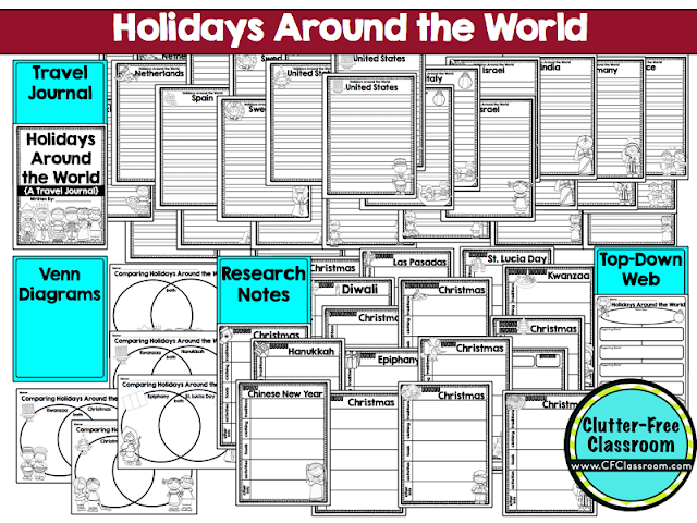 Holidays around the world videos for students clutter for Holidays around the world crafts