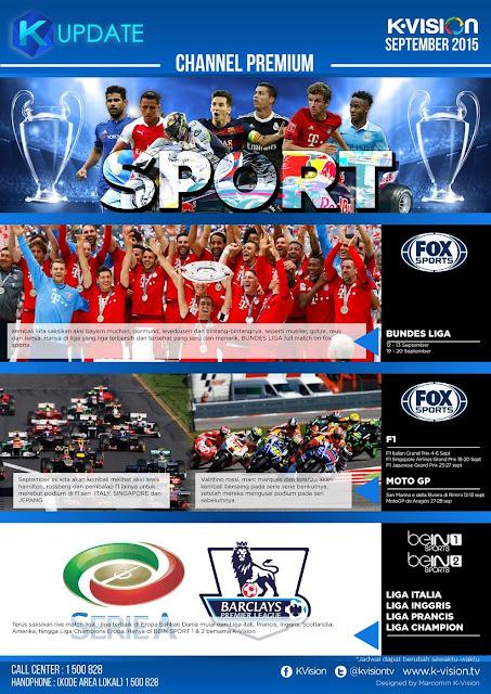K Vision Liga Inggris 2015