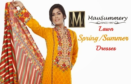 Mausummery Lawn Collection 2014-2015 | Mausummery Lawn