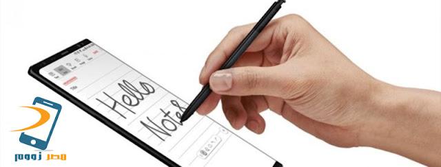 سامسونج تكشف عن هاتفها المرتقب Samsung Galaxy Note 9 بمستشعر بصمة أسفل الشاشة