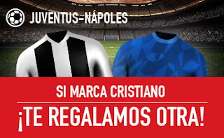 sportium promo Juventus vs Napoles 29 septiembre