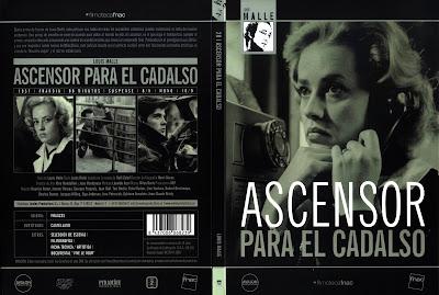 Ascensor para el cadalso (1957) | Caratula | Cine clasico