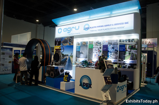 APEX plastic Piping Supply & Services Inc Exhibition Booth