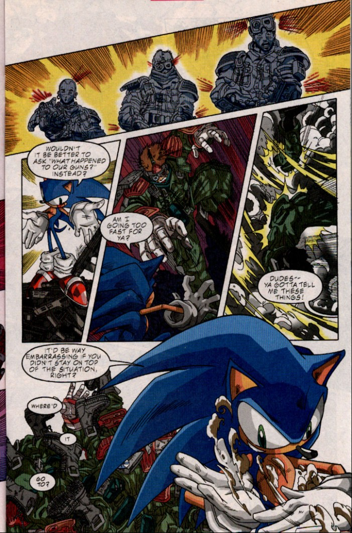 Read online Sonic The Hedgehog comic -  Issue #98 - 12
