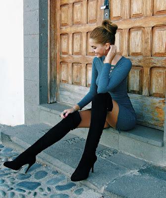 Outfits con botas Negras hermosas