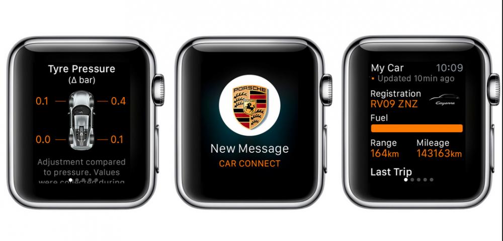 dok phone 6 applis pour constr ler sa voiture distance via l 39 apple watch. Black Bedroom Furniture Sets. Home Design Ideas