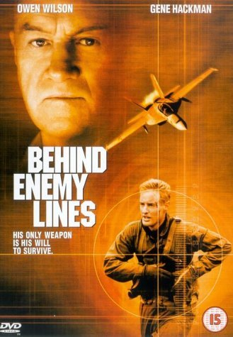 Poster of Behind Enemy Lines 2001 720p Hindi BRRip Dual Audio Full Movie Download