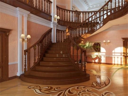 đóng mới cầu thang gỗ, sơn sửa chữa cầu thang tại nhà hà nội.