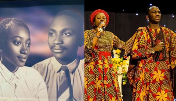 Paul Enenche & Wife Celebrate 25th Wedding Anniversary (Throwback Photo)