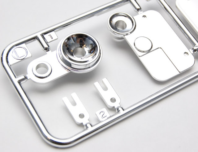 Tamiya CR-01 Toyota Land Cruiser headlights buckets