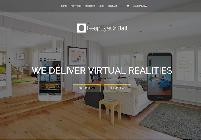 KeepEyeOnBall is virtual tour authoring app for mobile
