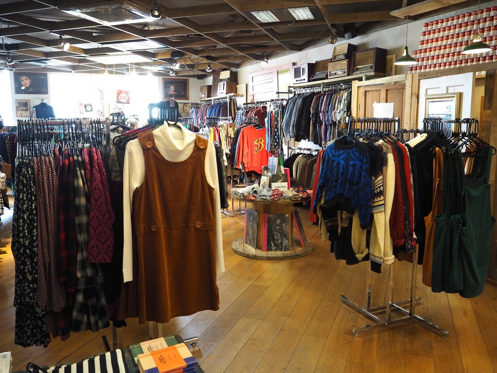 Rise independent music and vintage clothes shop Bristol