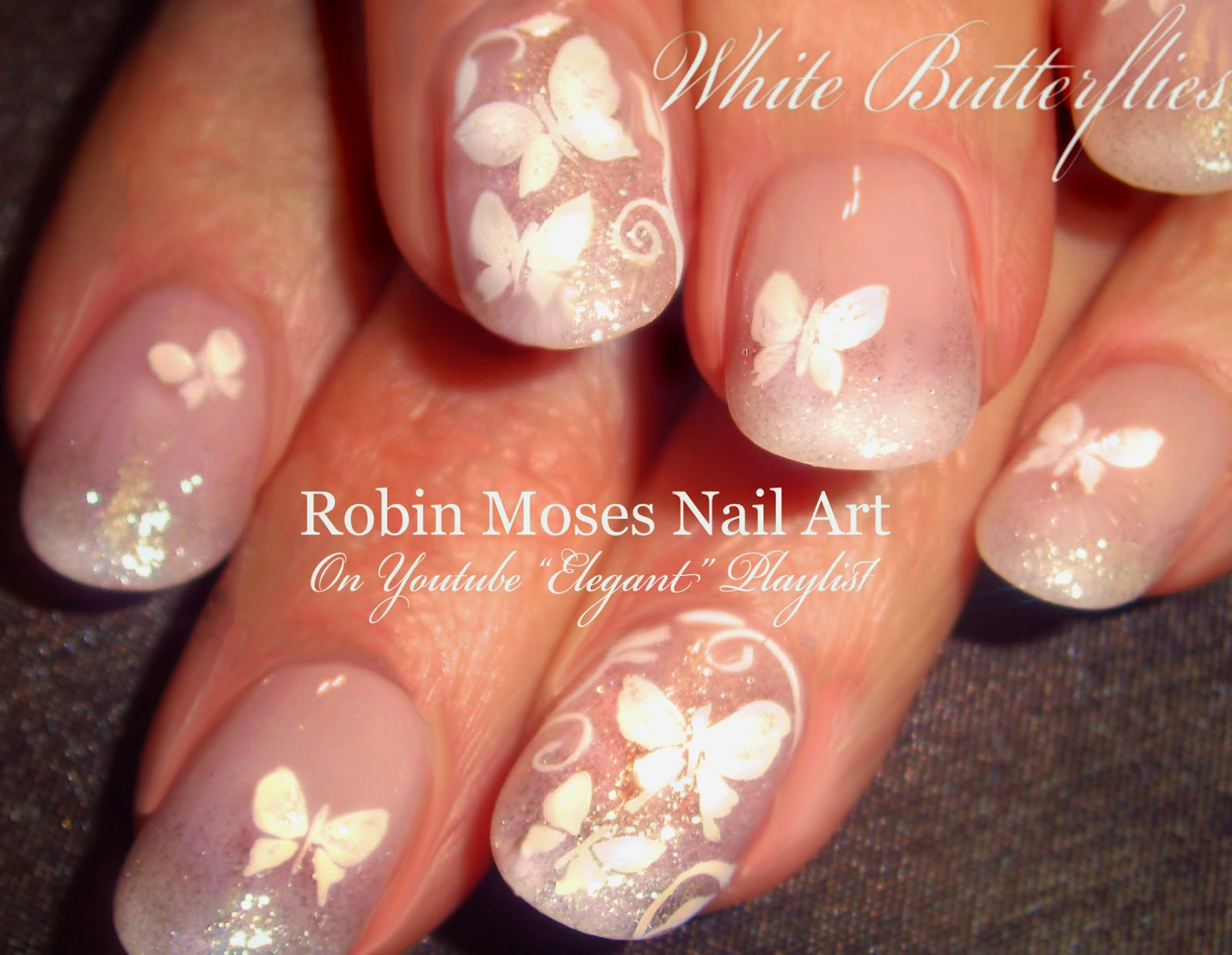 Nail Art by Robin Moses: White Wedding Nails 2018 | Elegant Bride ...