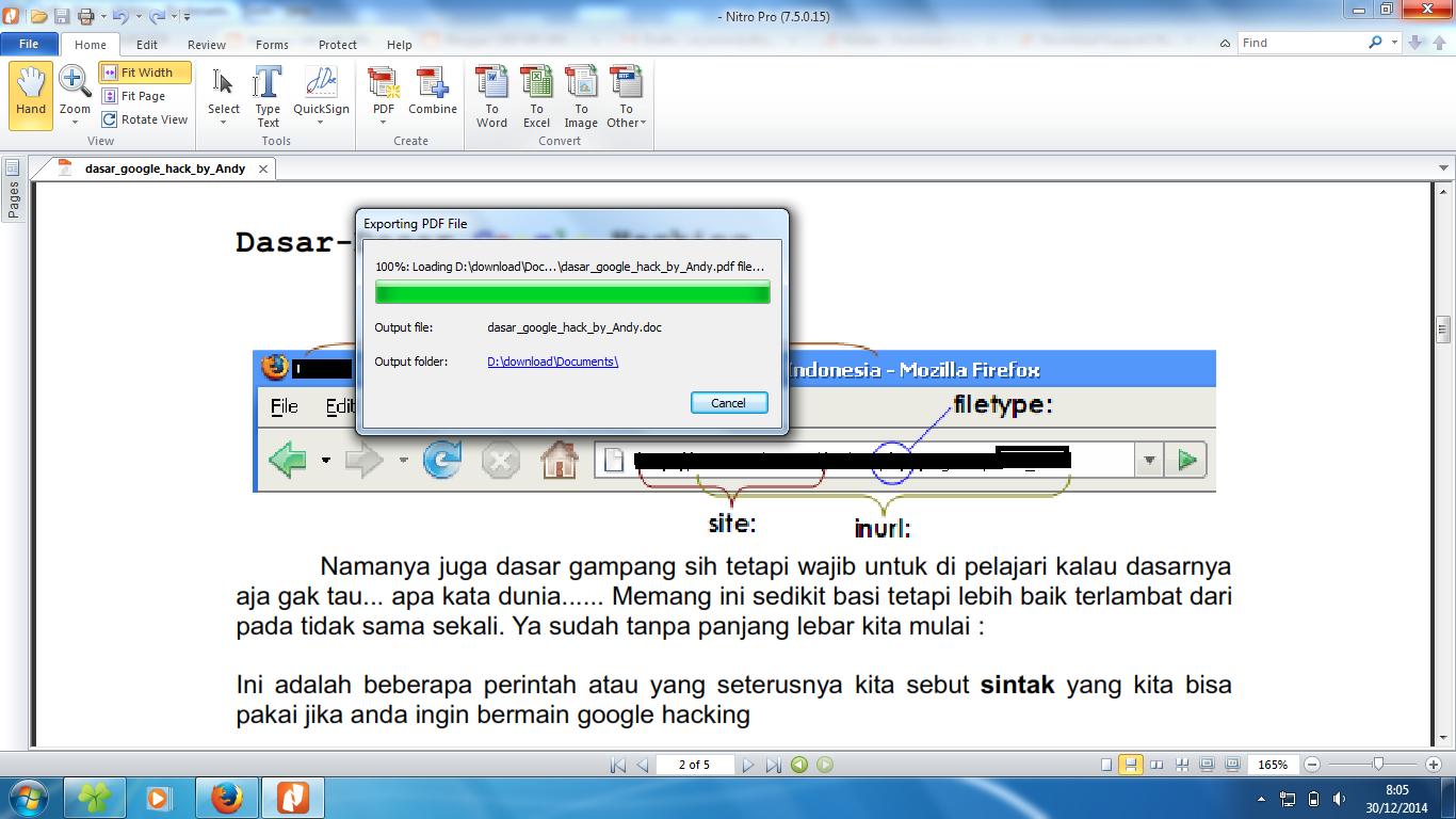 Cara Convert Ke Excel Offline