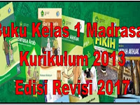 Buku Kelas 1 Madrasah Kurikulum 2013 Edisi Revisi 2017