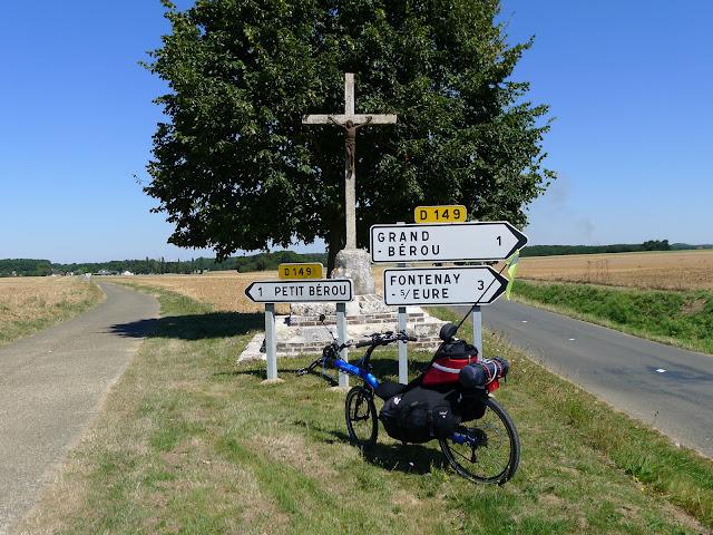 De Paris à la Rochelle en vélo couché, calvaire routier