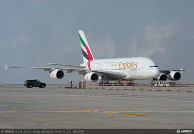Airbus A380-861, A6-EEM Emirates Airline