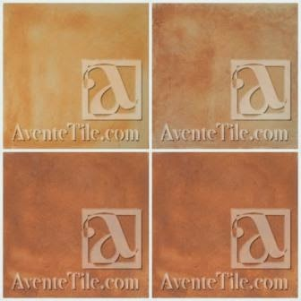If you want the look of Saltillo, then select from the four paver colors below.