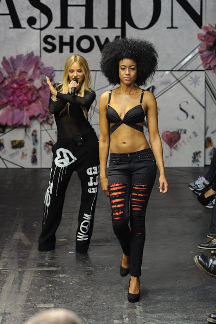 beata beats grateful vogue secret fashion show munich grateful