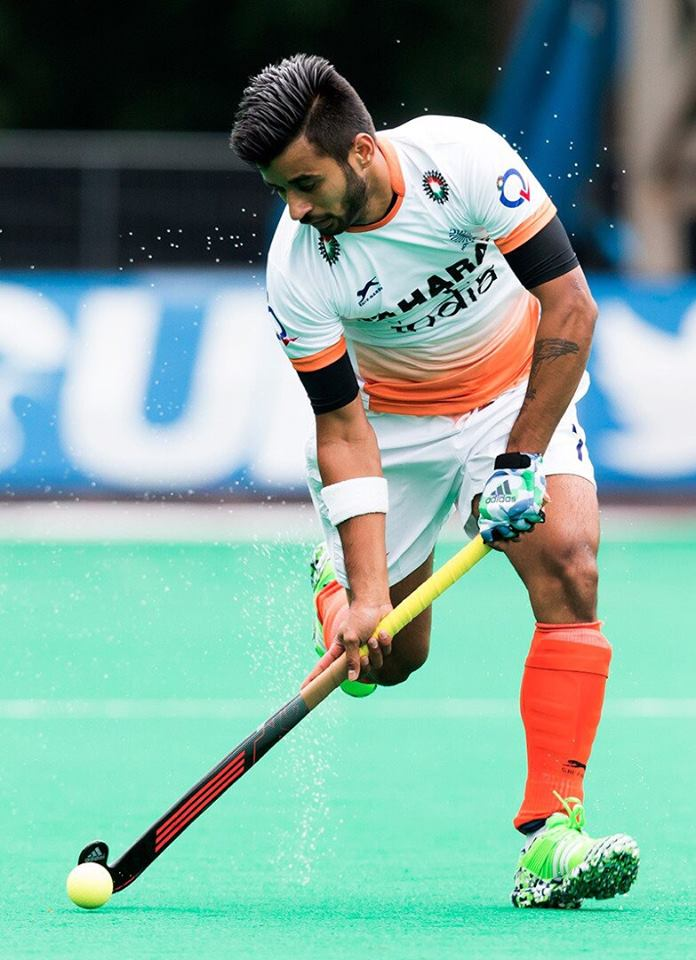 Manpreet Singh Indian Hockey Player Biography - Indian ...