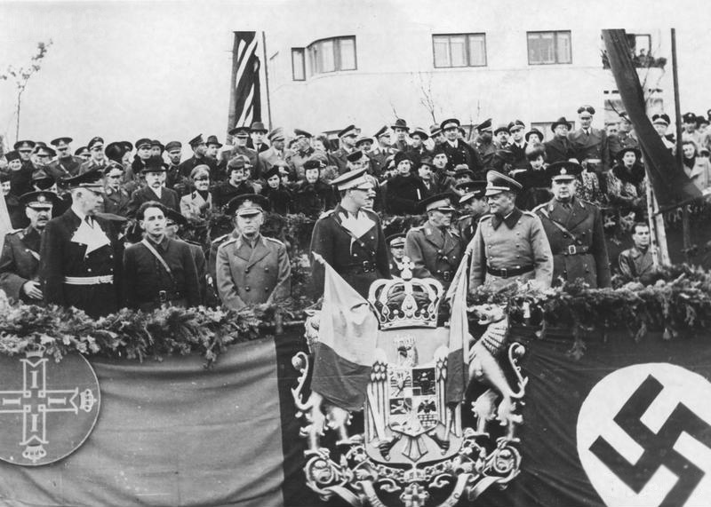 6 October 1940 worldwartwo.filminspector.com Antonescu King Michael Horia Sima