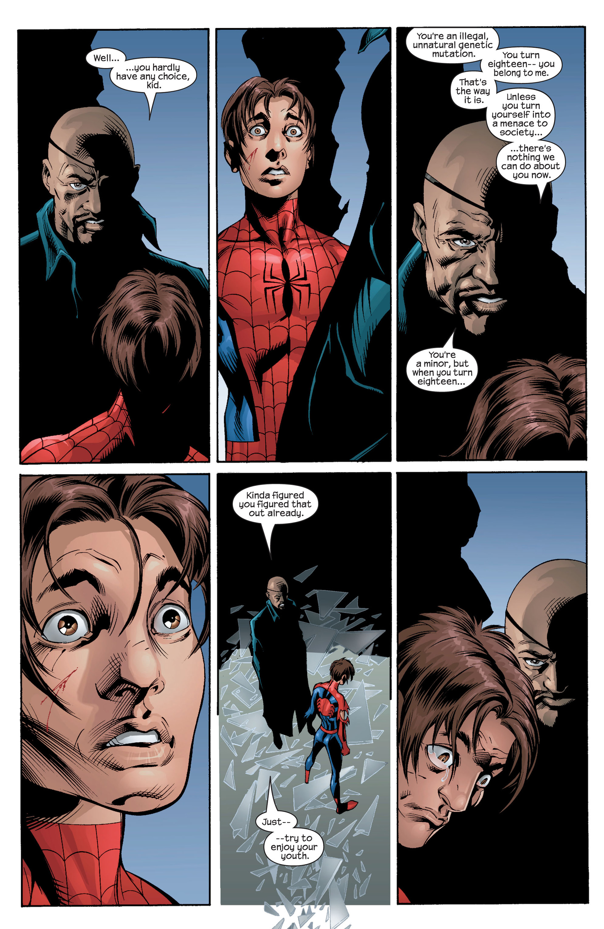 Read online Ultimate Spider-Man (2000) comic -  Issue #27 - 14