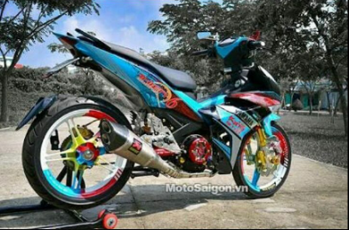 Modifikasi Mx King Ala Road Race Sumpah B