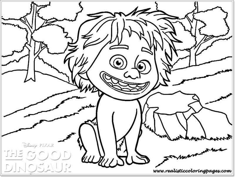 the good dinosaur coloring pages - photo#34