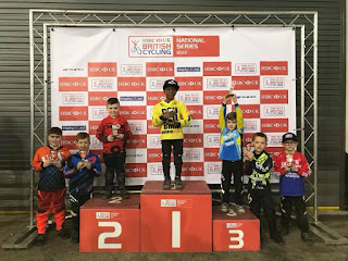 Jamie harron belfast city bmx club at manchester UK BMX National Series round 1.jpg