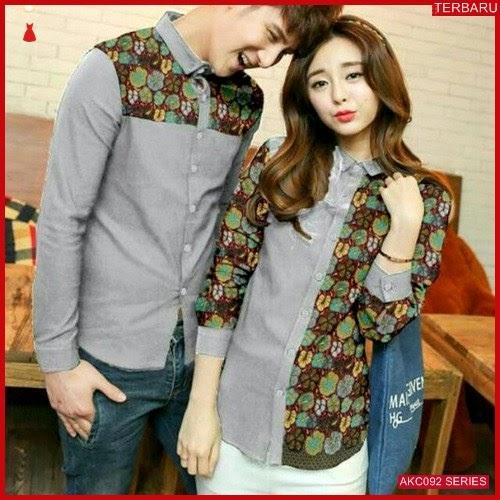 AKC092K56 Kemeja Couple Couple Anak 092K56 Kemeja Hem BMGShop