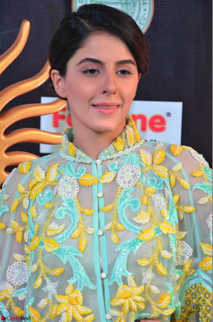 Isha Talwar in Transparent Cute Small mni dress at IIFA Utsavam Awards 2017  Day 2    HD Exclusive Pics 05.JPG