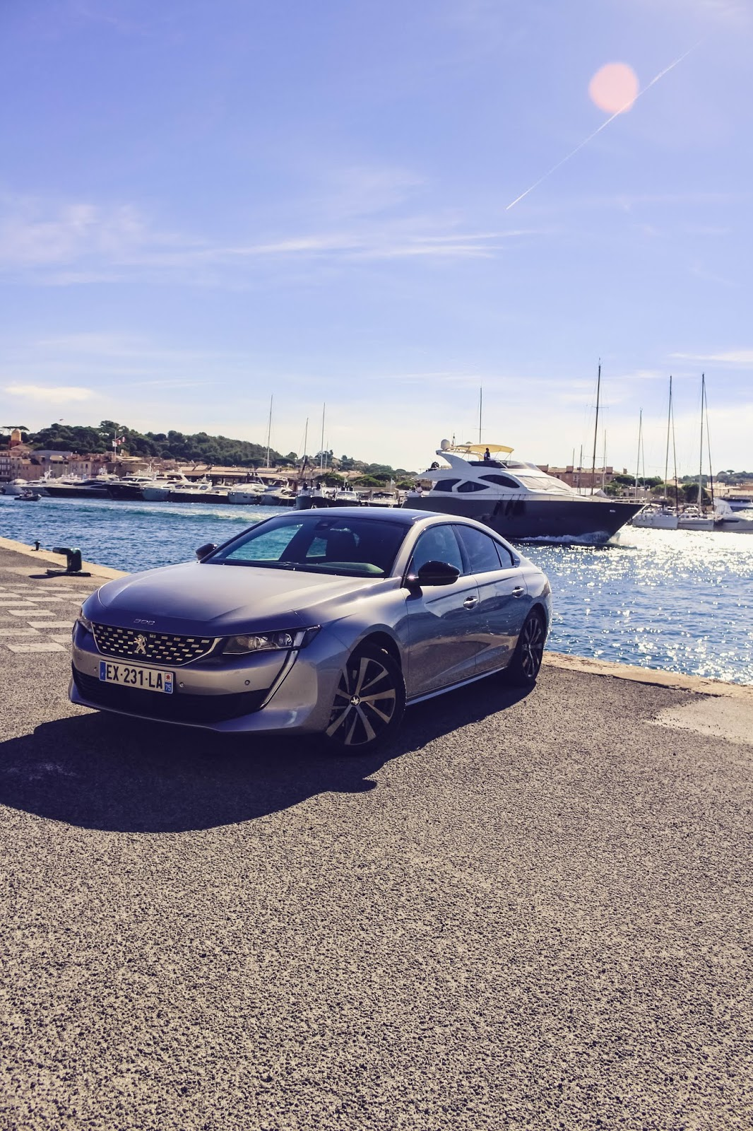 Test Peugeot 508 Berline design