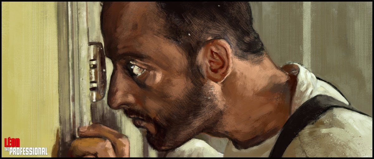 Fan Art Friday -- Leon the Professional