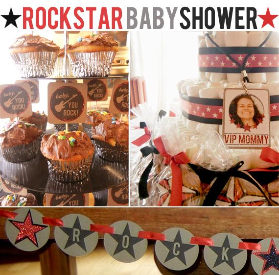 rockstar baby shower