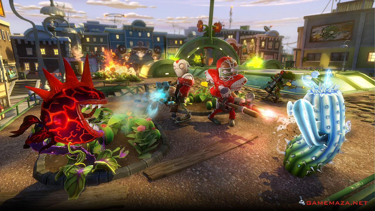 Plants Vs Zombies Garden Warfare Free Download Game Maza