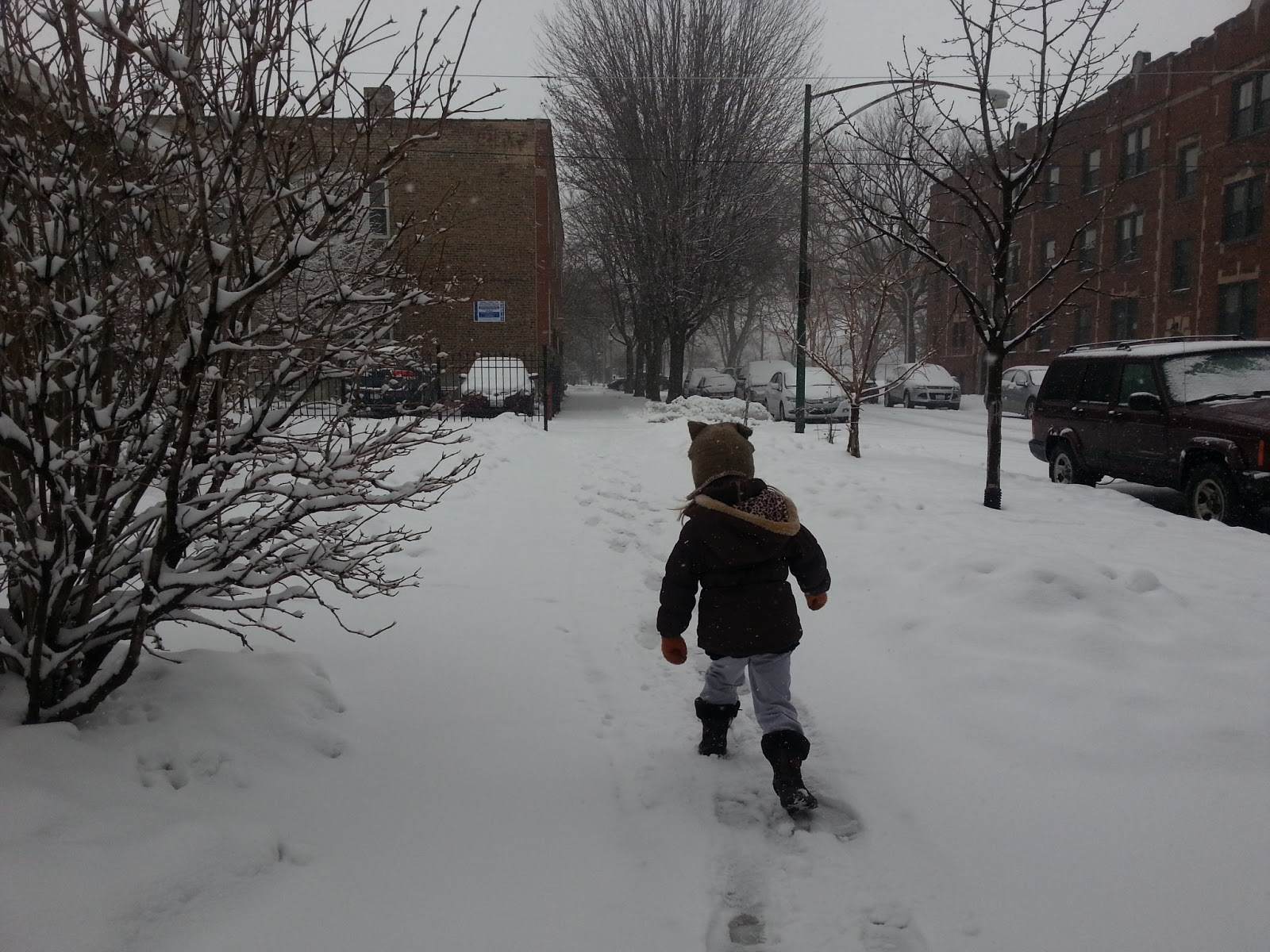The Chicago Real Estate Local: Snow What? CPS Kids Go To