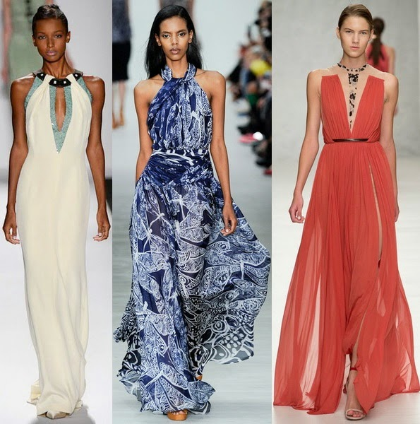 Summer Favourite Grecian Dresses: Top Spring Summer 2014 Greek-Style Dresses