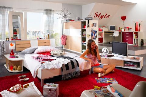 Modelos de dormitorios rosa para chicas adolescentes for Modelos de decoracion de dormitorios