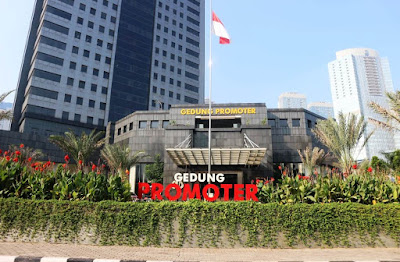 Gedung Promoter sebagai lokasi launching PMJnews.com