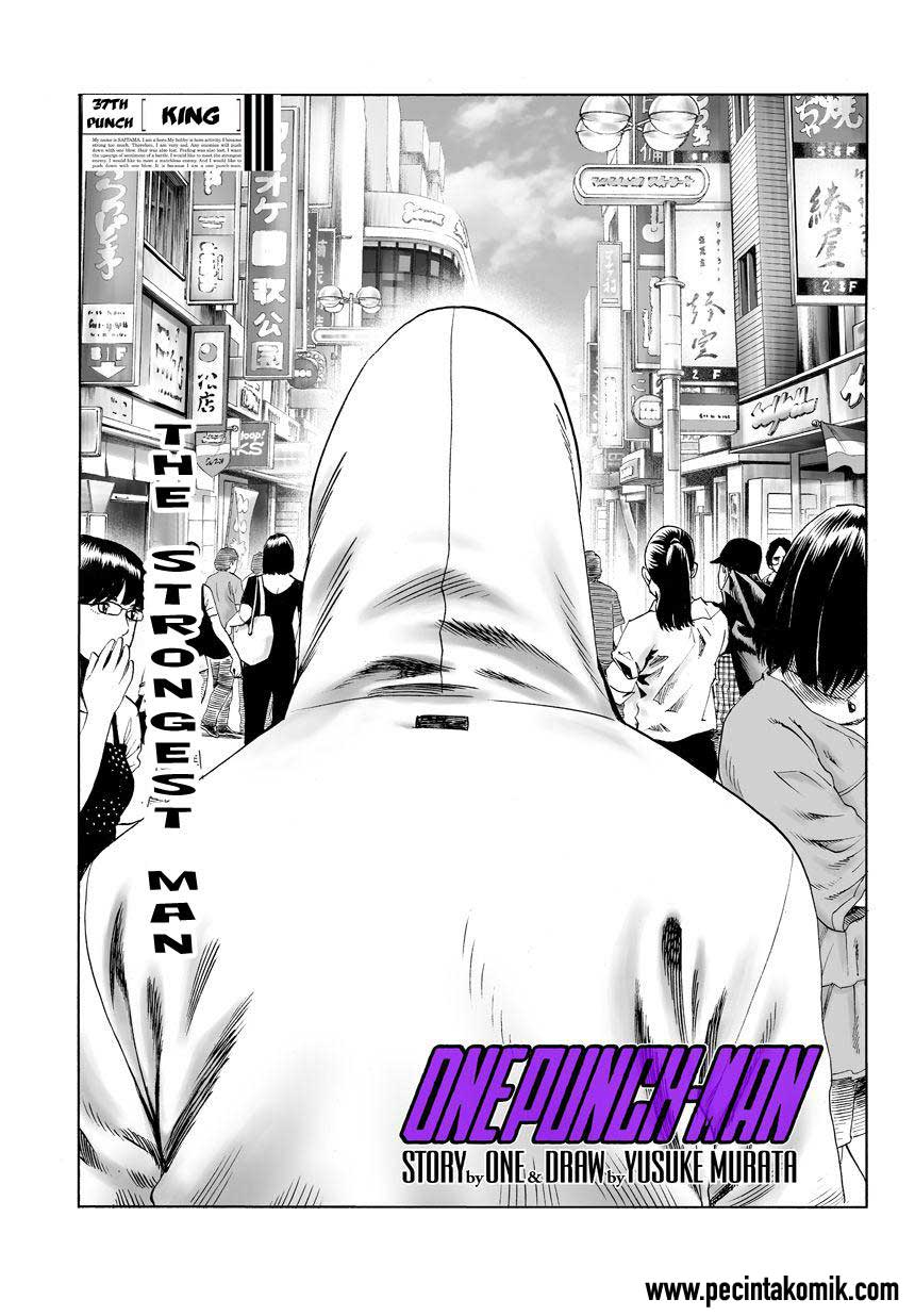 One Punch Man Chapter 50